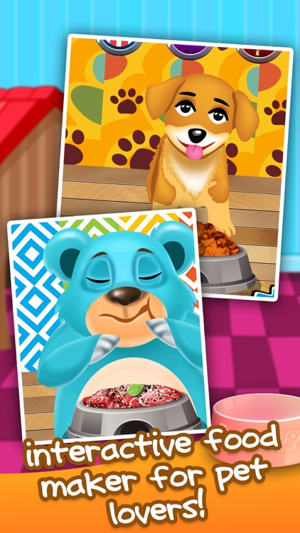 Food Maker for Little Pets - fun cake cooking & making candy games for girls 2! screenshot-3