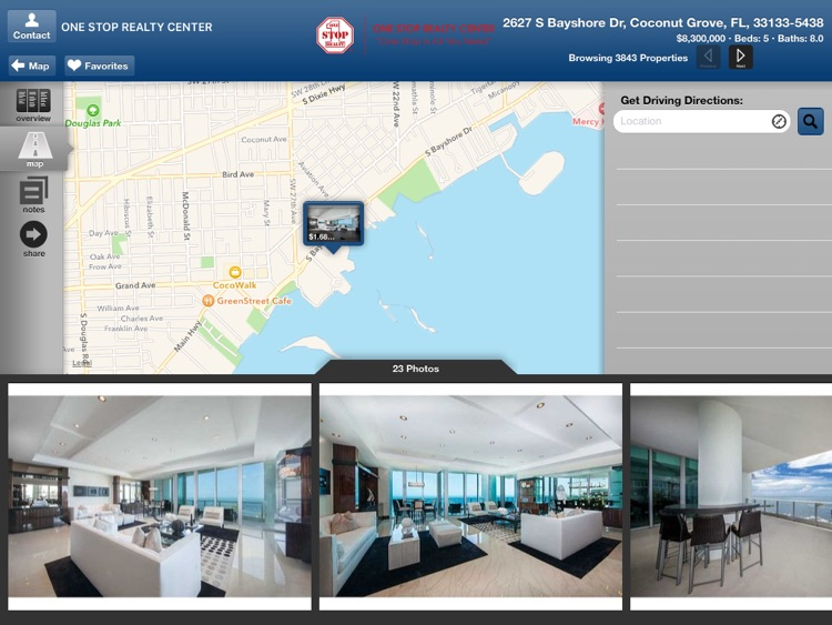 One Stop Realty for iPad