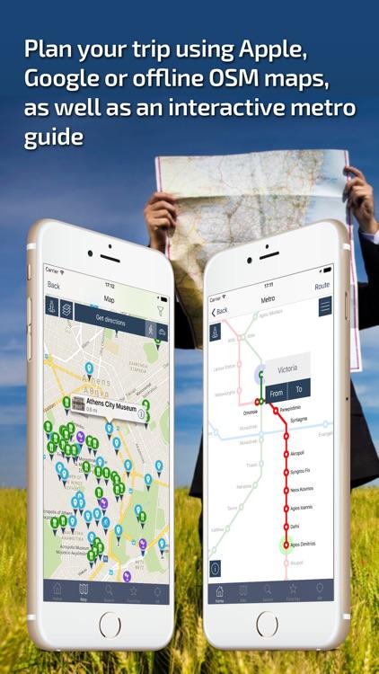 Athens - Offline Travel Guide screenshot-3