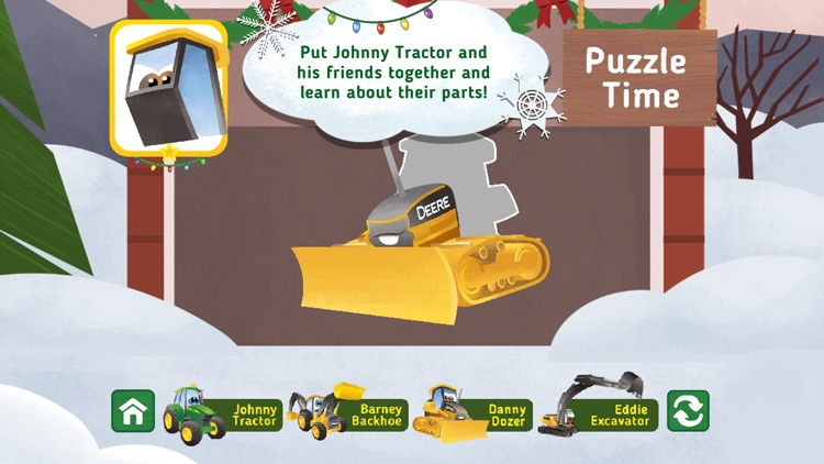 Johnny Tractor and Friends: Snow Day screenshot-4