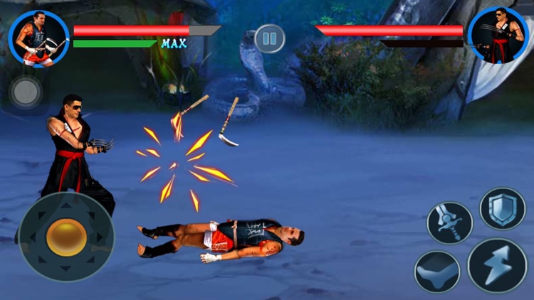 Street of Kunfu Fighter: Comical Devil Combat with Final Fighting Arcade Battle screenshot-1