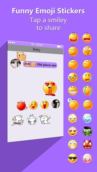 Funny Emoji Stickers Free Animated Emoticon Keyboard Icons For Whatsapp Telegram Wechat