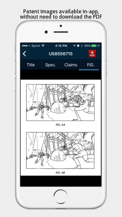 Patent Arcade - Patent Search screenshot-3