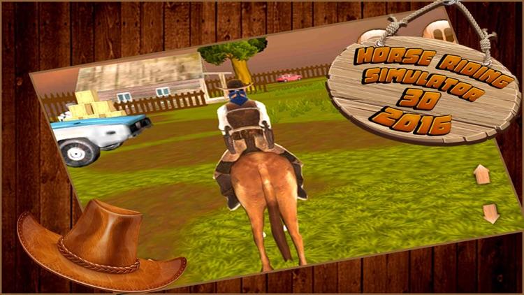 Horse riding simulator 3d 2016