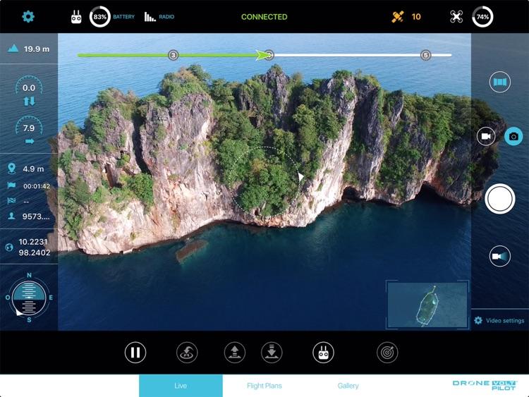 Drone Volt Pilot for DJI Mavic Phantom and Inspire