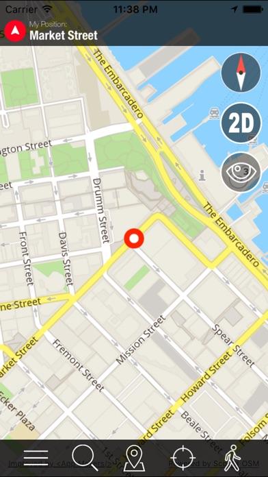 Screenshot for World Offline Maps + Voice Navigator and Video Dash Cam in Azerbaijan App Store