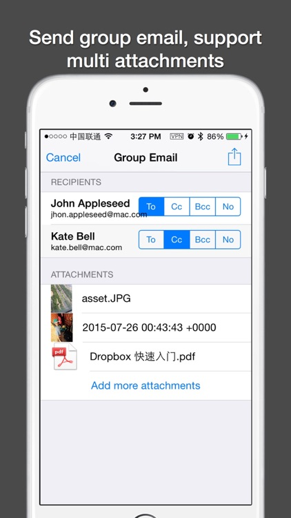 Contacts Plus — With Group Message and Email screenshot-3