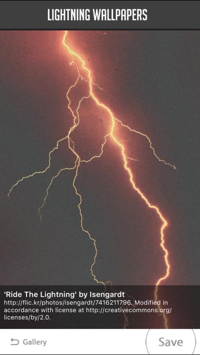 Lightning Wallpapers screenshot four
