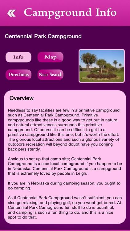 Nebraska Campgrounds and RV Parks
