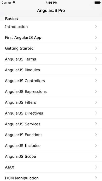 AngularJS Pro screenshot-0