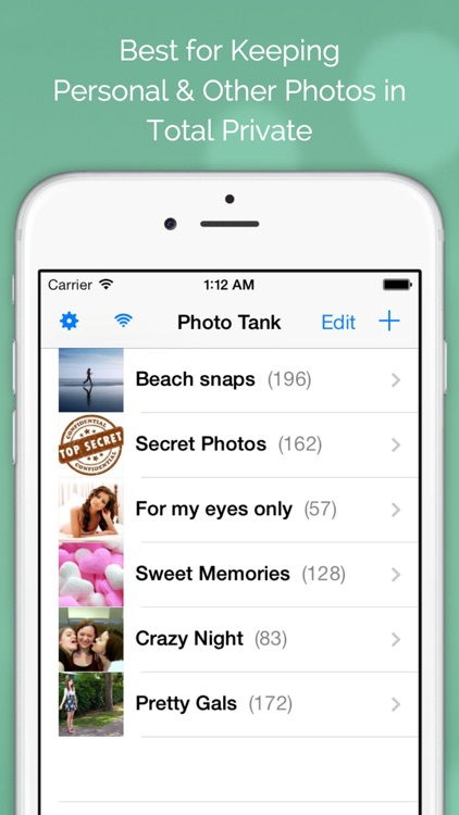 Photo Tank FREE - Lock Photos with Passcode