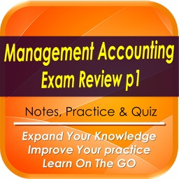 Management Accounting  Exam Review  Part 1: 1380 Study Notes & Quizzes