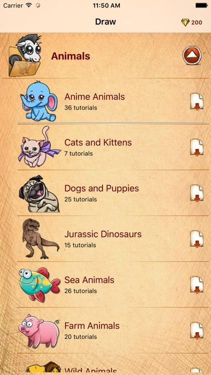 Draw Cute Anime Animals