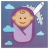 Flying With Kids - How to calm and hush your baby with soothing sounds while traveling in the air
