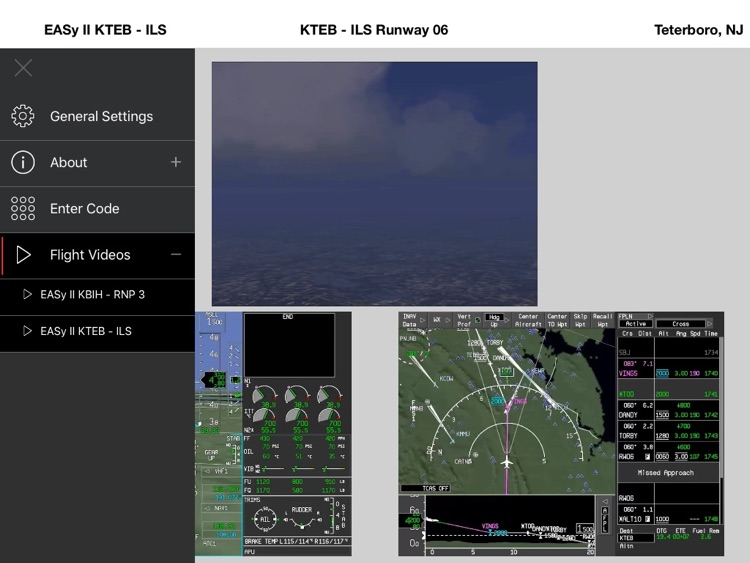 Synthetic Vision Demonstrator App