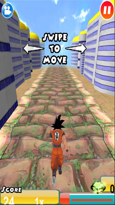3D Super Saiyan Evolution Battle Run- Unofficial Dragon Ball Edition: With Goku, Piccolo, Gohan & Vegeta 1.1 IOS