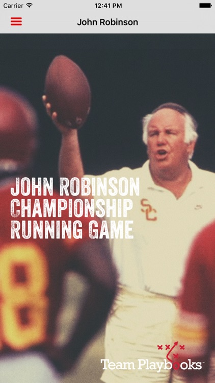John Robinson Championship Running Game screenshot-0