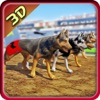 Race Dog Racer Simulator 2016 – Virtual Racing Championship with Real Police Dogs