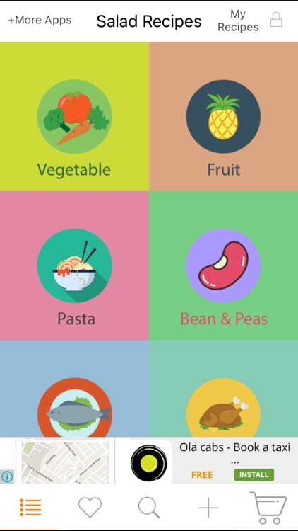 Salad Recipes - Salads from all around the World screenshot-0