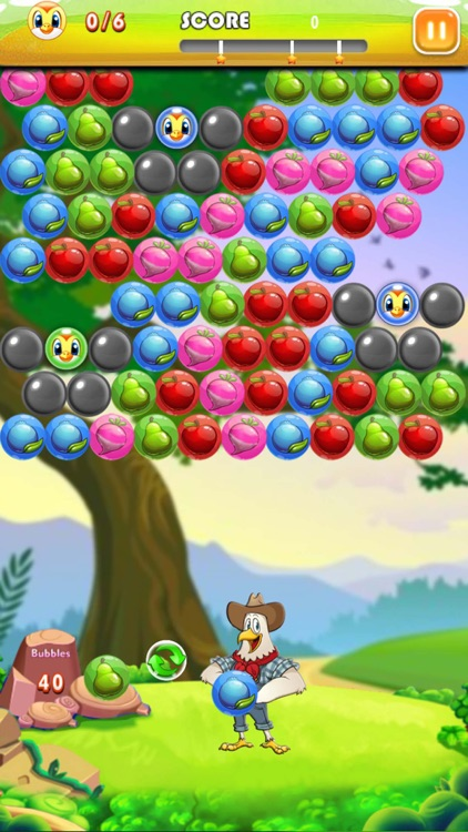 Bubble Shooter Farm Pop screenshot-4