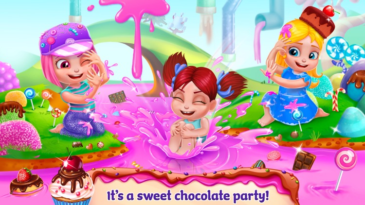 Chocolate Candy Party - Fudge Madness
