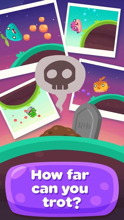 Glob Trotters - Endless Arcade Blobber screenshot-4