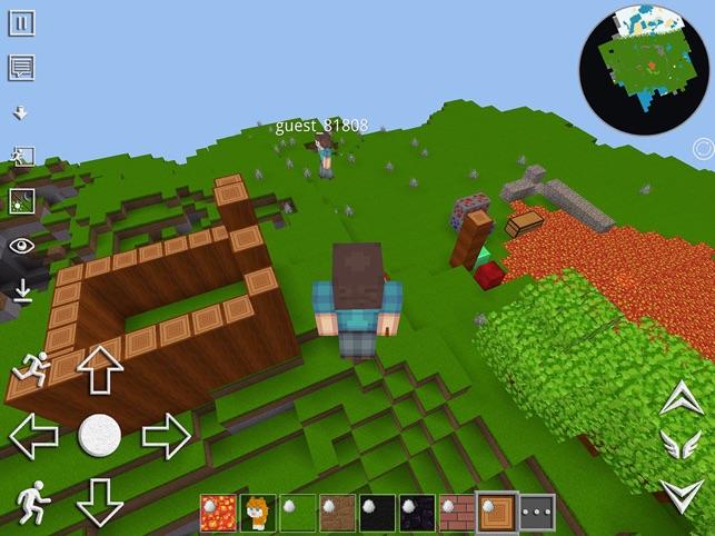 Worldcraft Pocket Edition On The App Store - Minecraft gratis spielen demo