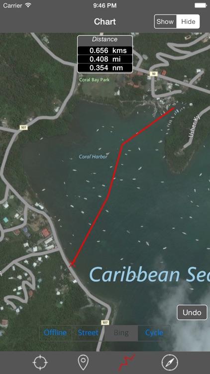 Virgin Islands - Raster Nautical Charts