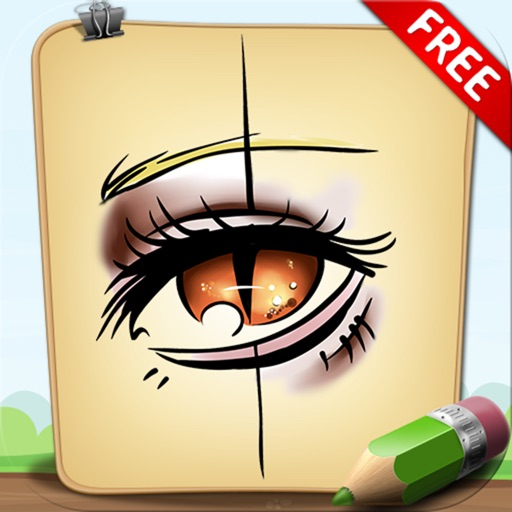 Learn To Draw Makeup and Eyes Free