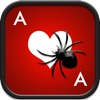 Ace Spider Square Full Deck Solitaire Spiderette - Classic Card Blitz Game