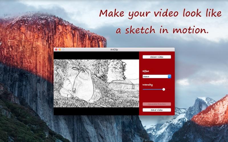ArtClip - Artistic Video Effects