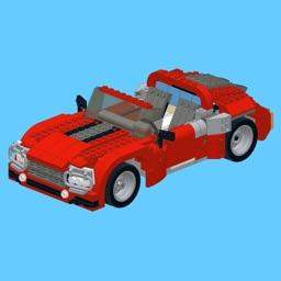 Roadster for LEGO Creator 7347 Set - Building Instructions