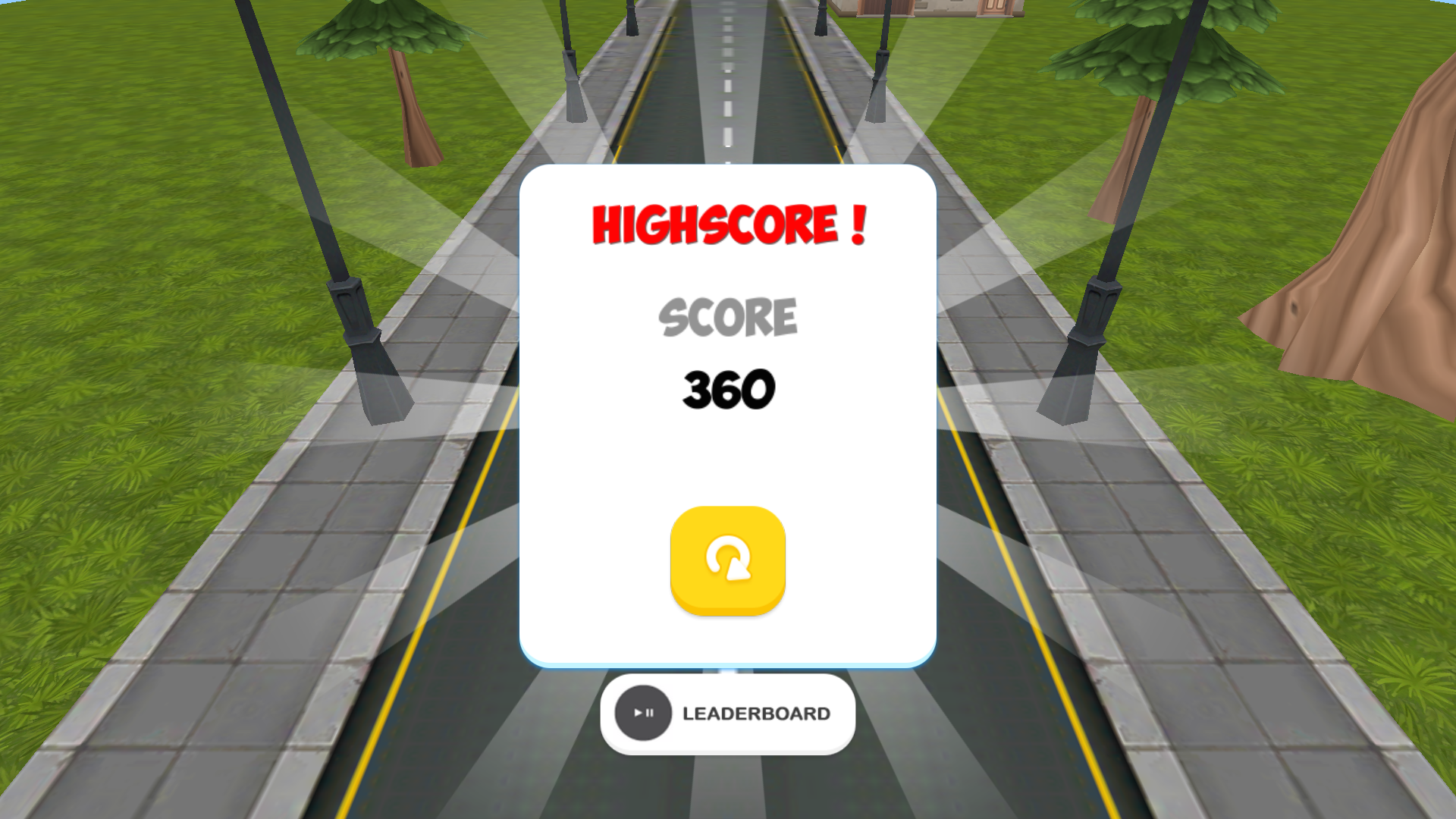 Racer Cars 3D for TV screenshot 5