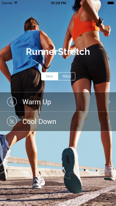 RunnerStretch - Warm up and cool down for runner - AppRecs