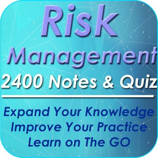 Risk Management: 2400 Study Notes, & Quizzes