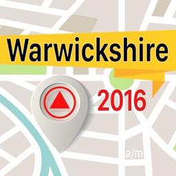 Warwickshire Offline Map Navigator and Guide
