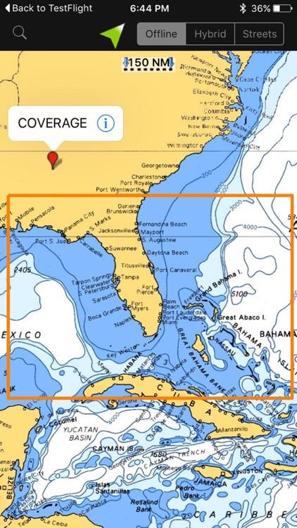 Florida GPS Nautical charts screenshot-4