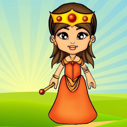 Наряды для бумажной куклы-принцессы!