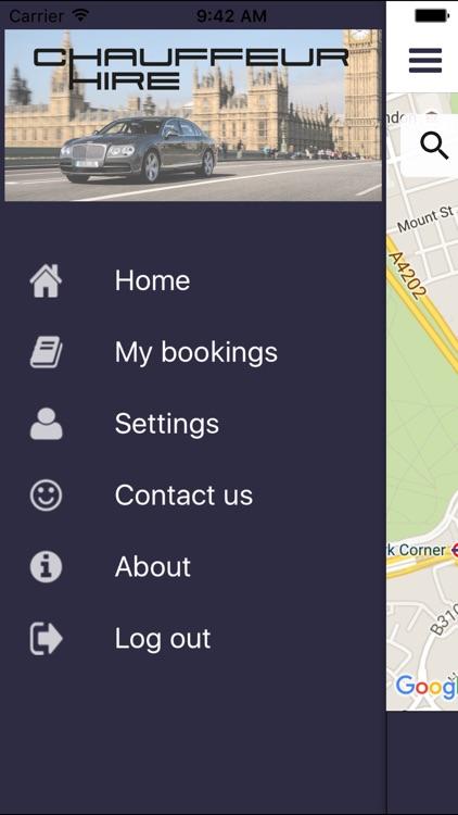 Chauffeur Hire screenshot-3