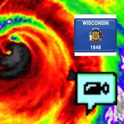 Wisconsin NOAA Radar with Traffic Cameras 3D