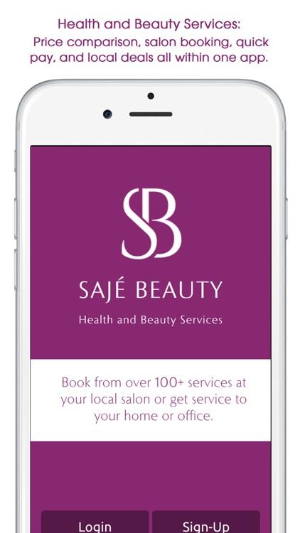 Sajé Beauty - On-demand health and beauty services
