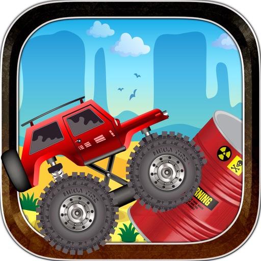"""'!Trucks VS Bombs: Off-road Monster Truck Escape - Stunt Car Rider"
