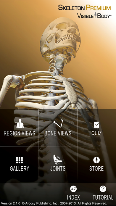 Skeleton Premium ScreenShot0