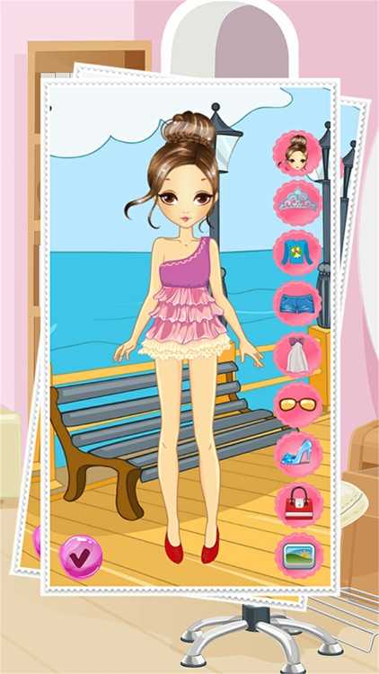 Fashion Girl Beauty Power Star Teen Celebrity Dress Up Style screenshot-3