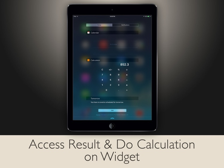 Calculator - iPad Edition