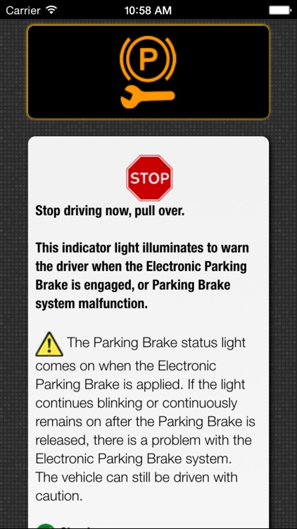 App for BMW Warning Lights & Car Problems screenshot-4