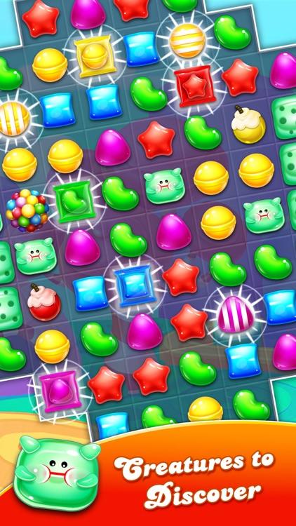 Candy Gems match 3 puzzle screenshot-4