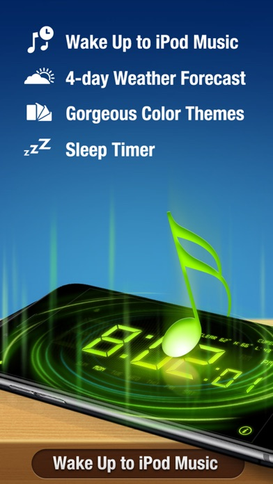 Alarm Clock Pro Screenshot 1