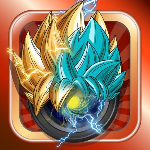 Anime & Manga Goku Saiyan Sticker Camera iOS App