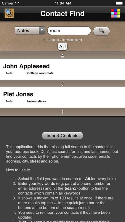 Contact Find screenshot-3